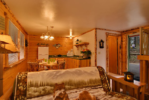 The Frontiersman Cabin at Meadowbrook Resort & DellsPackages.com in Wisconsin Dells